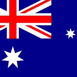 Australia Flag Square